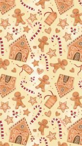 Sfondo Gratuito Gingerbread